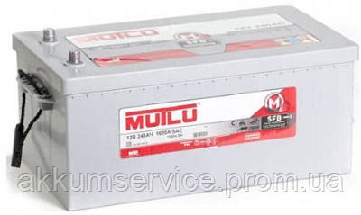 Акумулятор вантажний Mutlu Silver 240AH 4+ 1600A (1D6.240.150.B)