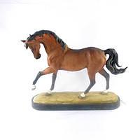 Статуэтка Конь большой SM00006-2 фигурка лошадь коричневая 40*34*11 см