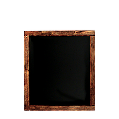 Доска меловая (в рамке декор) 400*500 ПХ