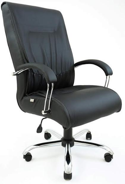Кресло Мюнхен хром 1 кат черное