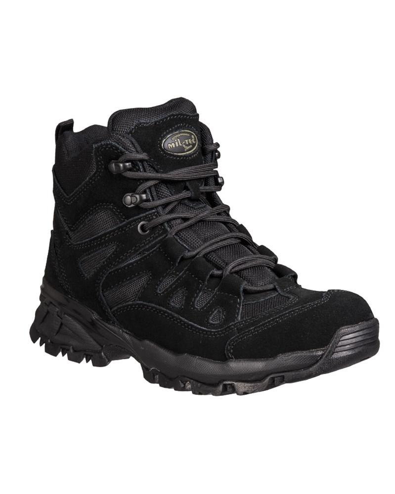 Ботинки Mil-Tec Trooper 5 (Black, черные)