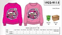 Свитшоты для девочек оптом,  Disney, 116-152 pp