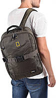 Городской рюкзак National Geographic хаки 24 л