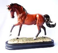 Статуэтка Конь на скаку SM00112 фигурка лошадь в движении 20*16*6 см