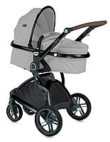 Детская коляска универсальная 2 в 1 Lorelli Lumina GREY | Производитель: Lorelli (Болгария)