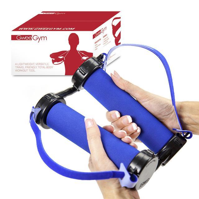 Тренажер - эспандер с ручками Gwee Gym Lite (в ящике 42 шт). - фото 3