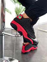 Мужские кроссовки Nike Air Jordan 13 Black/Red and Blue/White/Grey