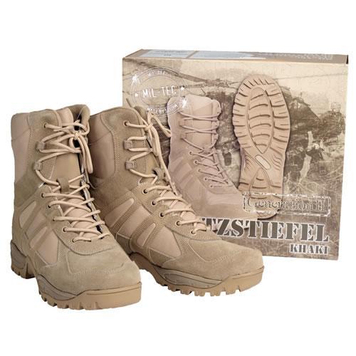 Ботинки Mil-Tec полевые Generation II (khaki, хаки)