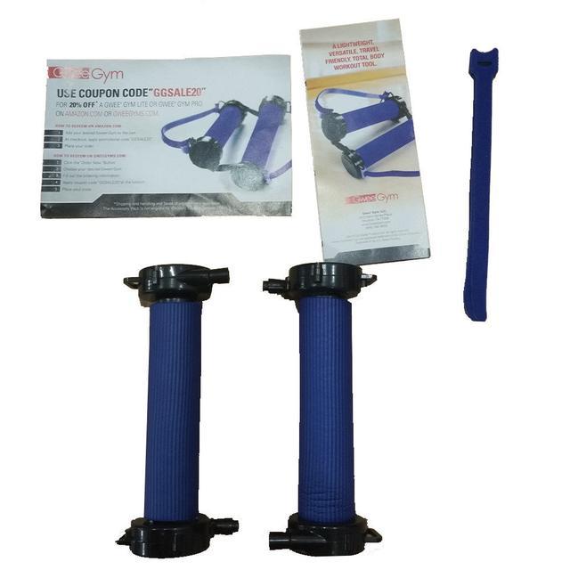 Тренажер - эспандер с ручками Gwee Gym Lite (в ящике 42 шт). - фото 4