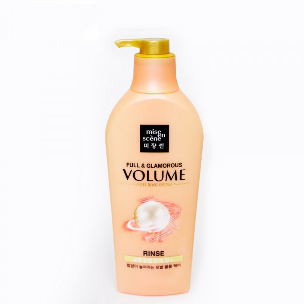 Увлажняющий и придающий объем кондиционер для волос Mise en Scene FullL & Glamorous Volume Rinse 780 мл (8809559346353)
