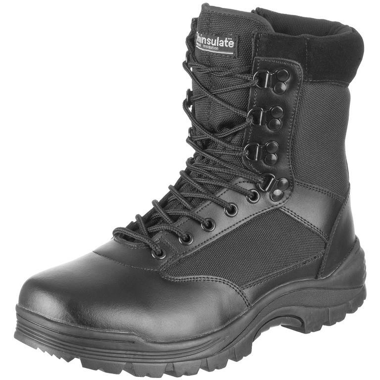 Ботинки Mil-Tec тактические на молнии (Black)