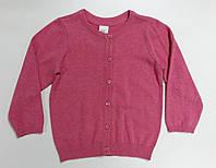 Кофта для девочек розовая на пуговицах H&M