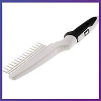Расчёска с вращающимися зубьями для кошек Ferplast GRO 5757 Premium