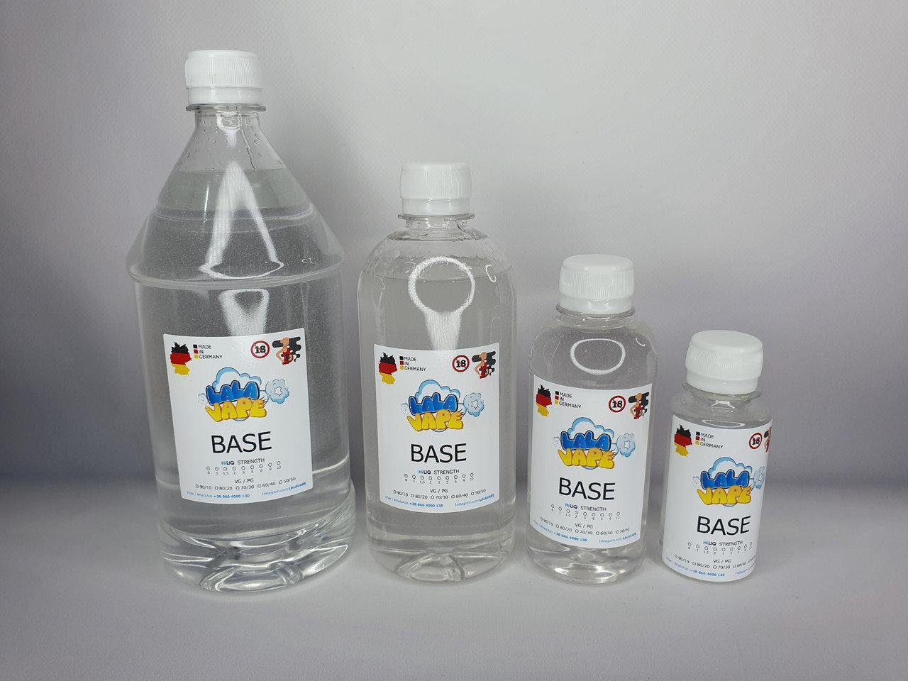 Нажмите, для выбора солевой базы