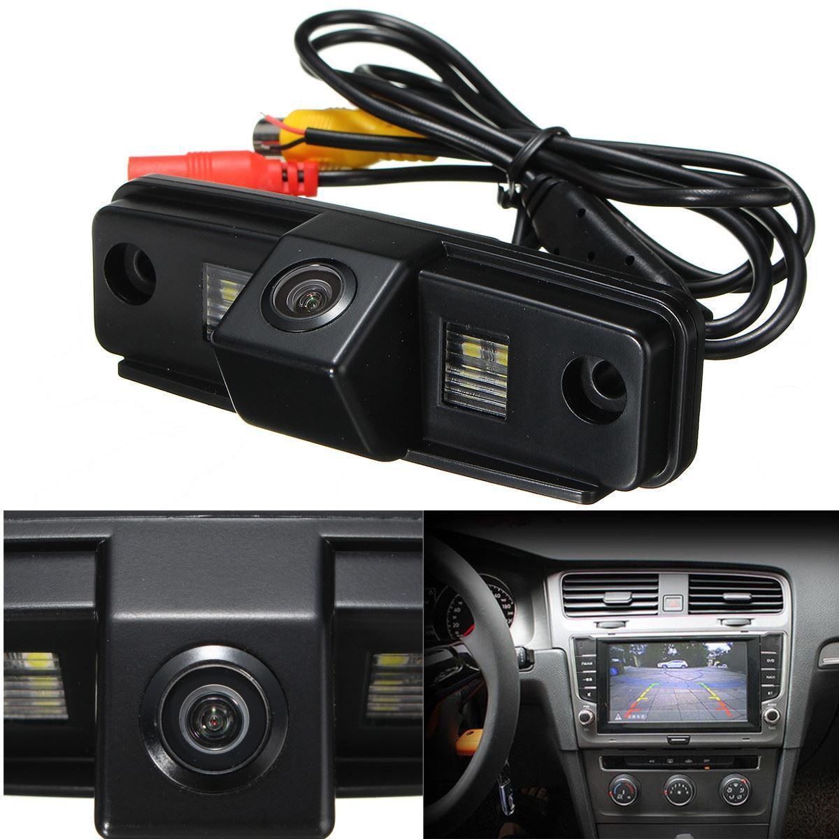 Камера заднего вида универсальная Subaru Forester 2008 2009 2010 2011 2012 цветная матрица CCD