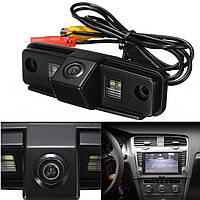 Камера заднего вида универсальная Subaru Forester 2008 2009 2010 2011 2012 цветная матрица CCD, фото 1