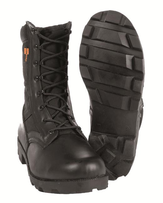 Ботинки Mil-Tec тропические Cordura, black