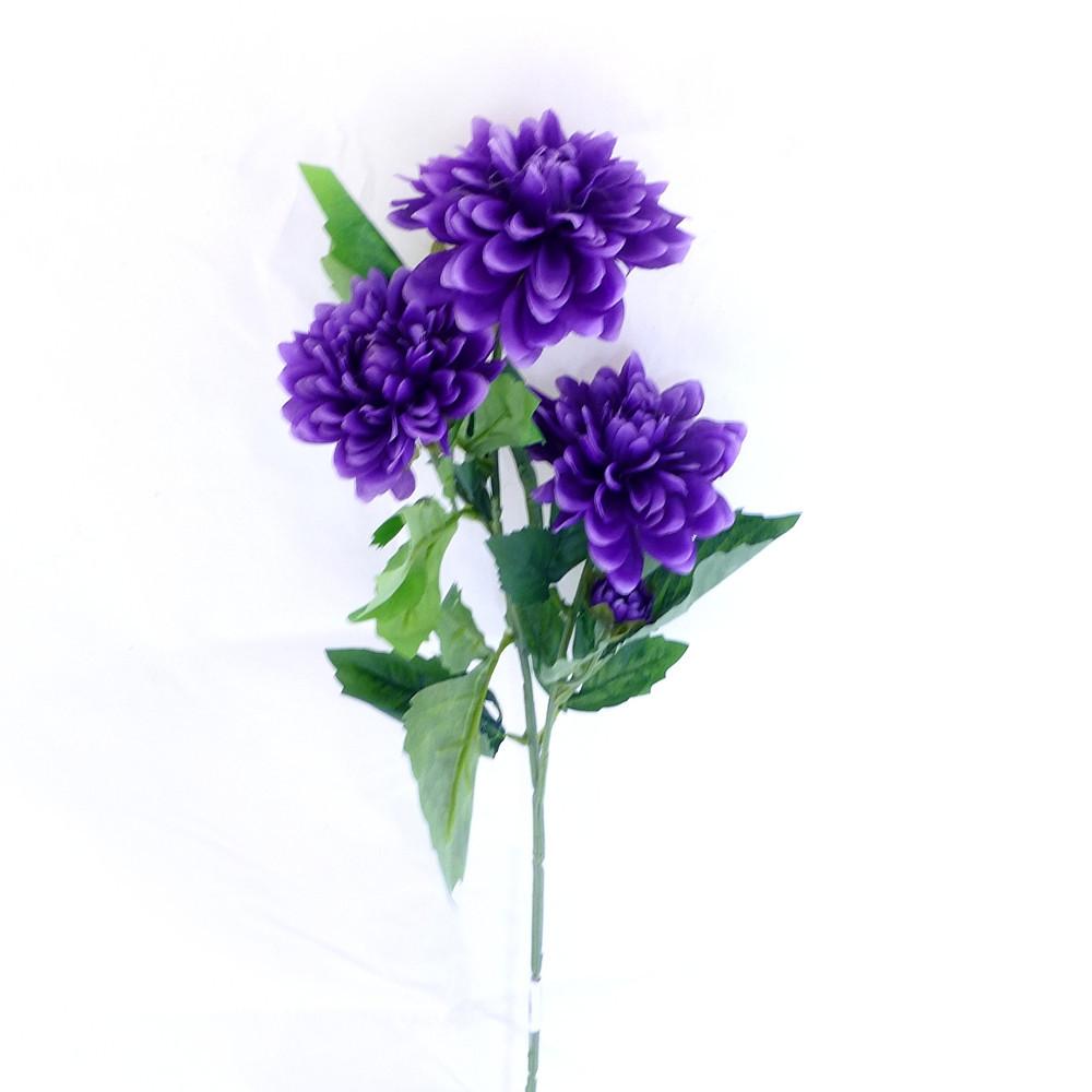 Георгина ткань 70 см 127 127 искусственные цветы из ткани
