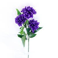 Георгина ткань 70 см 127 127 искусственные цветы из ткани, фото 1
