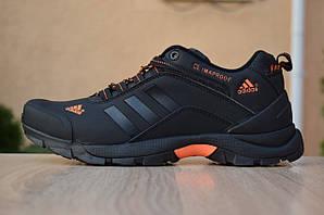 Кроссовки Adidas Climaproof, черные с оранжевым
