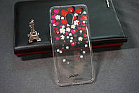 Чехол бампер силиконовый Meizu M5 ( Мейзу М5 ) с рисунком