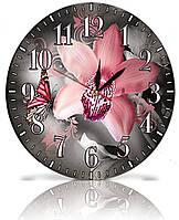 Настенные часы Декор Карпаты Серый (25-58)