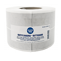 Kiilto Butyl Tape 10 см × 20 м - самоклеящаяся бутиловая лента для систем гидроизоляции