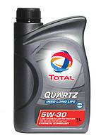 Синтетическое моторное масло TOTAL QUARTZ INEO L LIFE 5W30 1л