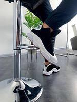 Мужские замшевые кроссовки Nike Air Jordan 13 Retro Black/White