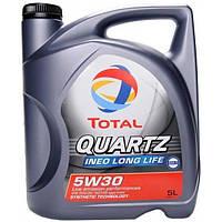 Синтетическое моторное масло TOTAL QUARTZ INEO LONG LIFE 5W-30 5л