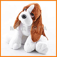Мягкая игрушка собака | игрушки собачки бассет хаунд