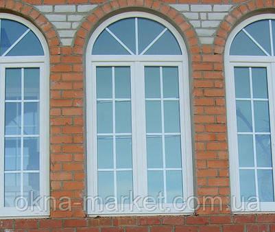 Нестандартные арочные окна под заказ