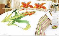 Комплект постельного белья Le Vele Aliza White сатин 220-200 см