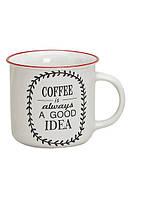 Кружка кофе керамика 9см, 300мл 10014090 керамическая чашка
