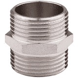 Никелированный переходник нипель  1/2 дюйм  MIRAYA, фото 2