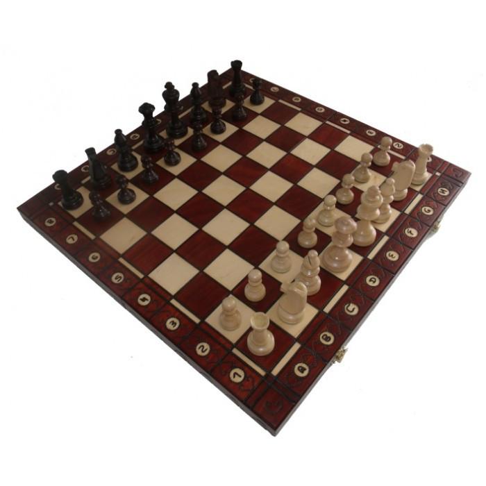 Шахматы резные КОНСУЛ 490*490 мм СН 135