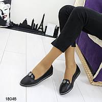 Женские туфли с камнями на низком ходу, фото 1