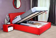"""Красная кровать """"Amur-Diablo"""""""