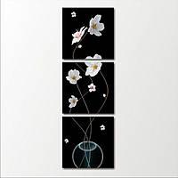 Составная модульная картина на стену Цветущие ветки в вазе, 79х63 см