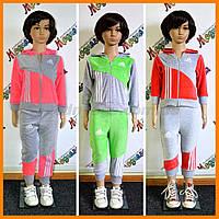 Велюрові дитячі костюми Адідас   Adidas для дітей