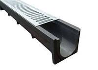 Водоотвод глубокий длинный 1000х140х125 мм (РА)