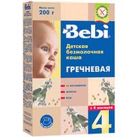 Каша безмолочная Bebi Premium (Беби премиум) гречневая, 200 г 1104310