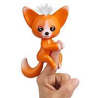 Интерактивная лиса Мики Фингерлингс оранжевая WowWee Fingerlings - Interactive Baby Fox - Mikey 3571