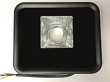 Светодиодный линзованый прожектор PREMIUM LEON SL-50ВLens 50W синий IP65 Код.59637, фото 2