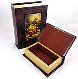 Шкатулка-книга набор из 2х фрукты 22-KSH-XZ-PU09125A, фото 2