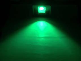 Светодиодный линзованый прожектор PREMIUM LEON SL-50GLens 50W зеленый IP65 Код.59639