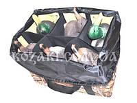 Сумка для муляжей, (6-12 чучел) 6 ячеек