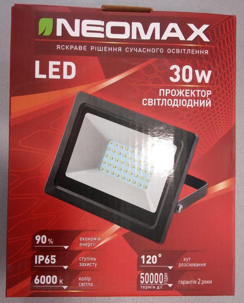 Прожектор LED SMD NEOMAX 30W 6000К 2400Lm