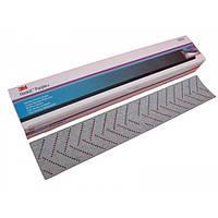 Пурпурная полоска для длинных и средних шлифков, конфигурация:734U, размер: 70 мм х (198 мм + 198 мм), зерно: P150 (30620)