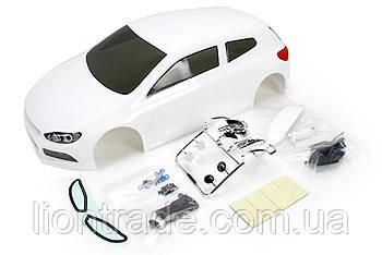 Team Magic E4D SRC Pre-painted Body Shell White